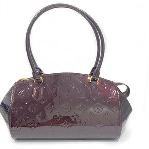 LOUIS VUITTON VERNIS SHERWOOD MM BAG